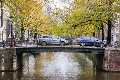 Fotobehang Amsterdam Amsterdam bridge