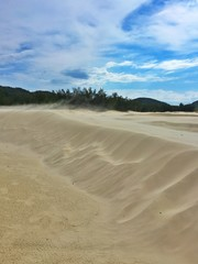 vento nas dunas
