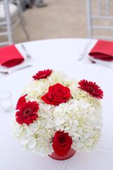Centerpiece at a Wedding Reception