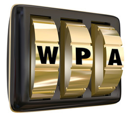 WPA Wifi Secure Network Computer Internet Protected Access Lock