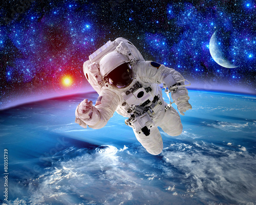 Astronaut Spaceman Outer Space - 80355739