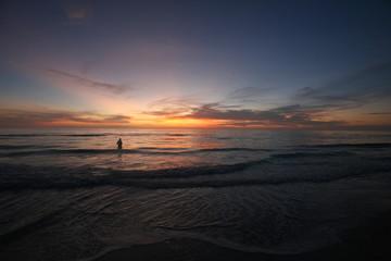 Stunning Ocean Sunset