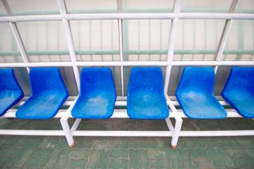 chair in stadium