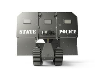 The Robotic Ballistic Shield.