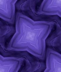 Seamless star shape pattern in violet