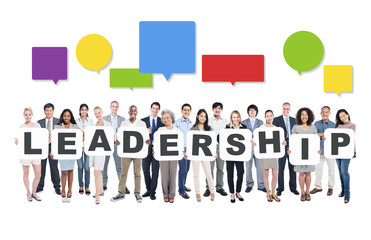 Leadership Business People Team Teamwork Success Concept