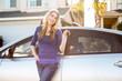 Woman car - 80362929