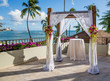 Beautiful setting for wedding ceremony in Hawaii