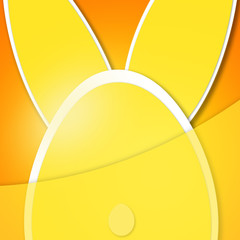 Easter background ,Rabbit greeting