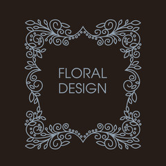 Monogram Design Element