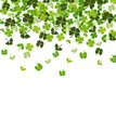 St. Patrick's day vector background with shamrock - 80367992