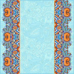 background with flower ribbon, stripe pattern