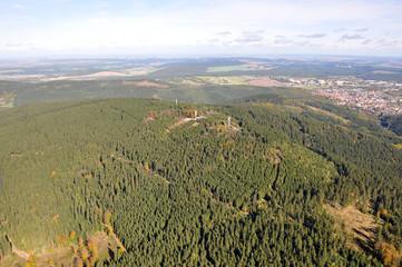 Kickelhahn bei Ilmenau / Thüringer Wald