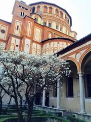 Milano, Santa Maria delle Grazie - Chiostro delle Rane