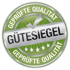 Gütesiegel - geprüfte Qualität