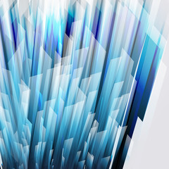 abstract background wiht straight blue lines