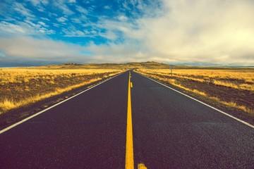 Arizona Road to Crater