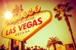 Leinwanddruck Bild - Famous Las Vegas Nevada
