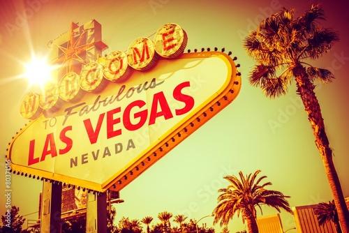Poster Famous Las Vegas Nevada
