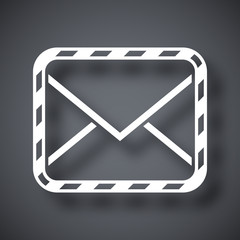 Vector sealed envelope icon