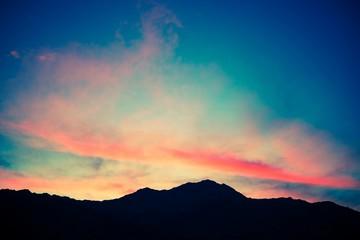 Scenic Mountain Sunset