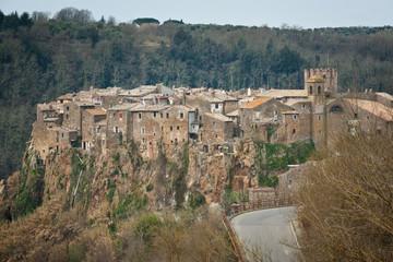 Calcata. Italia