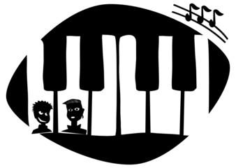 Klavier und Jugend