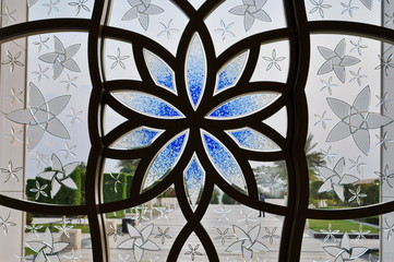 Grand Mosque ornamental Window