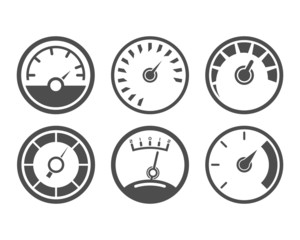 Meter Icons Black