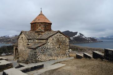 Surp Astvatsatsin church,Sevanavank monastery,Armenia,Unesco