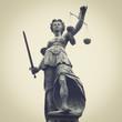 Leinwandbild Motiv Lady Justice