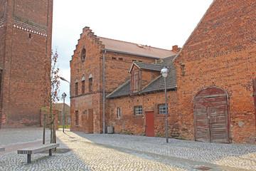 Kloster Jerichow: Nebengebäude (12. Jh.,Sachsen-Anhalt)