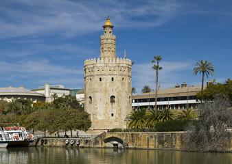 Torre del Oro of Seville