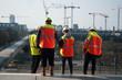 ouvriers de chantier à la défense - Paris - 80378304