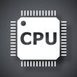 Vector CPU icon - 80379318