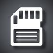 Vector memory card icon - 80379350