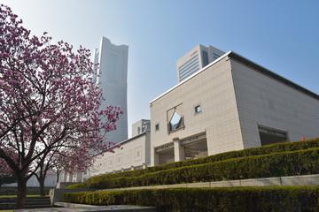 晴れた日の横浜美術館