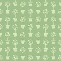 flower pots pattern