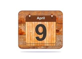 April 9.