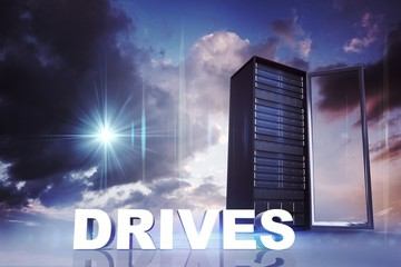 Composite image of drives