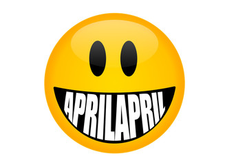 Aprilscherz Smiley,  April April
