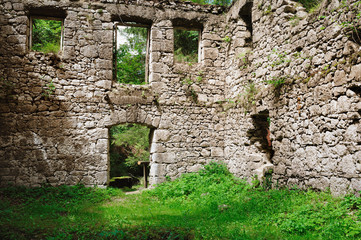 ruine en pierre