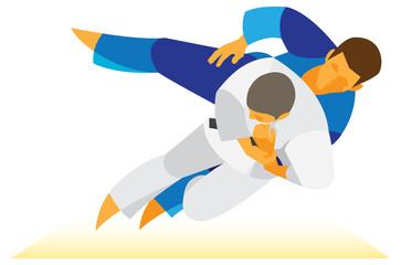 judo athletes