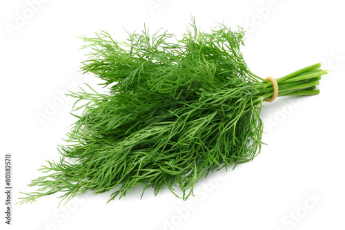 A bunch of fresh dill - 80382570
