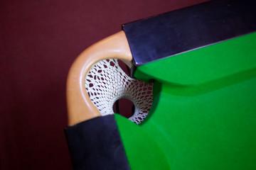 snooker hole net