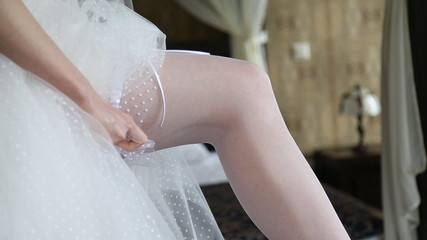 Dresses wedding garter