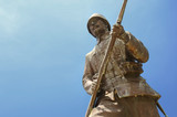 Statue Of A Turkish Soldier, Canakkale, Turkey