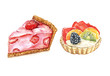 Watercolor cakes - 80383945