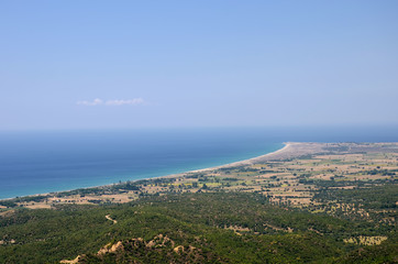 Anzac Cove (Ariburnu) From Chunuk Bair, Canakkale, Turkey