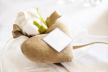 heart wedding favors